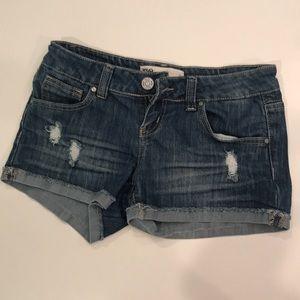 RSQ Malibu jean shorts for girls